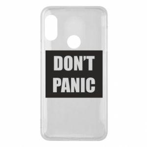 Etui na Mi A2 Lite Don't panic