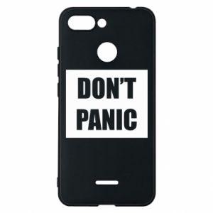 Etui na Xiaomi Redmi 6 Don't panic