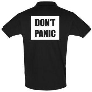 Koszulka Polo Don't panic