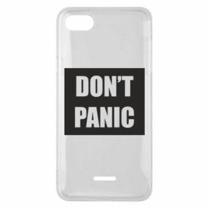 Etui na Xiaomi Redmi 6A Don't panic
