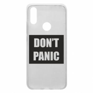 Etui na Xiaomi Redmi 7 Don't panic