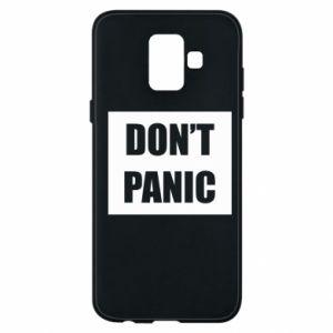 Etui na Samsung A6 2018 Don't panic