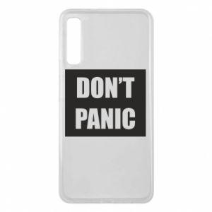 Etui na Samsung A7 2018 Don't panic
