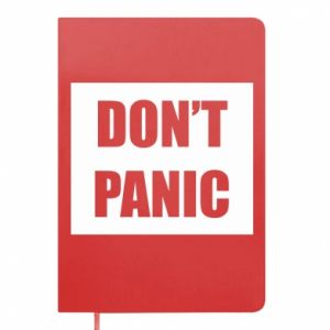 Notes Don't panic