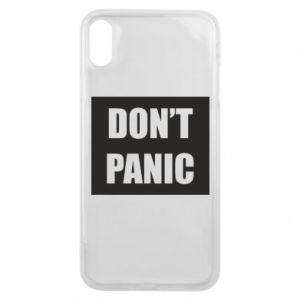 Etui na iPhone Xs Max Don't panic