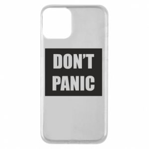 Etui na iPhone 11 Don't panic
