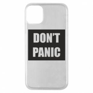 Etui na iPhone 11 Pro Don't panic