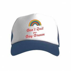 Kid's Trucker Hat Don't quit your day dream