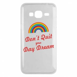 Etui na Samsung J3 2016 Don't quit your day dream