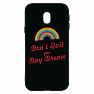 Etui na Samsung J3 2017 Don't quit your day dream