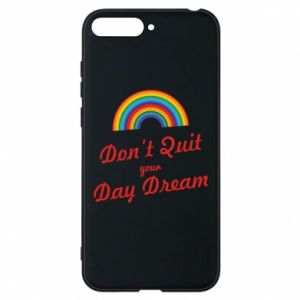 Etui na Huawei Y6 2018 Don't quit your day dream