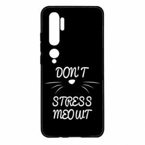 Etui na Xiaomi Mi Note 10 Don't stress meowt