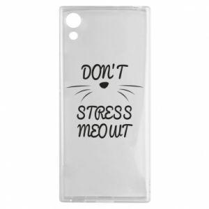 Etui na Sony Xperia XA1 Don't stress meowt