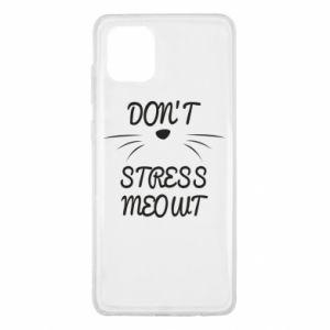 Etui na Samsung Note 10 Lite Don't stress meowt