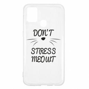Etui na Samsung M31 Don't stress meowt