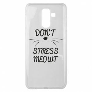 Etui na Samsung J8 2018 Don't stress meowt