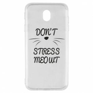 Etui na Samsung J7 2017 Don't stress meowt