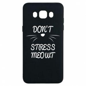 Etui na Samsung J7 2016 Don't stress meowt