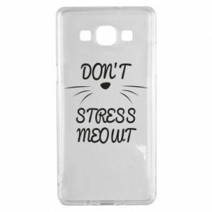 Etui na Samsung A5 2015 Don't stress meowt