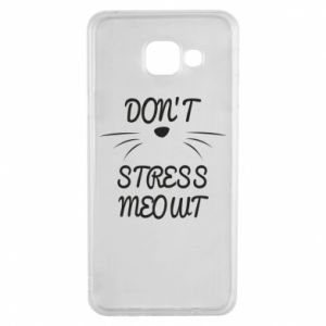 Etui na Samsung A3 2016 Don't stress meowt