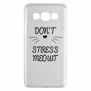 Etui na Samsung A3 2015 Don't stress meowt