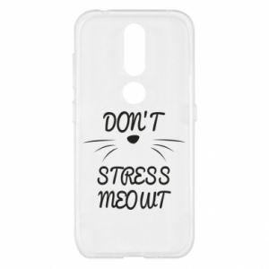 Etui na Nokia 4.2 Don't stress meowt