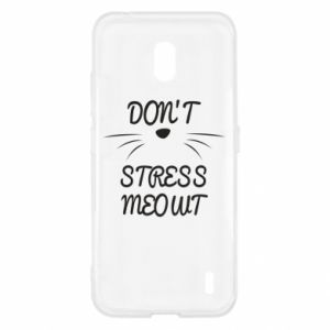 Etui na Nokia 2.2 Don't stress meowt