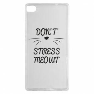Etui na Huawei P8 Don't stress meowt