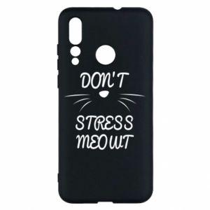 Etui na Huawei Nova 4 Don't stress meowt