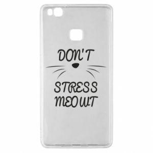 Etui na Huawei P9 Lite Don't stress meowt