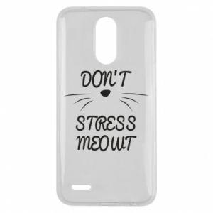 Etui na Lg K10 2017 Don't stress meowt