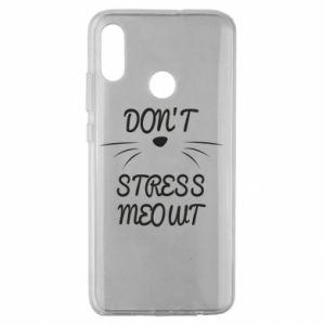 Etui na Huawei Honor 10 Lite Don't stress meowt