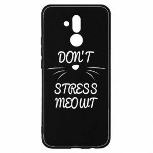 Etui na Huawei Mate 20 Lite Don't stress meowt