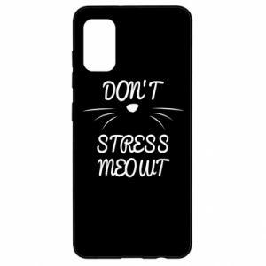 Etui na Samsung A41 Don't stress meowt