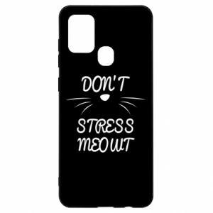 Etui na Samsung A21s Don't stress meowt