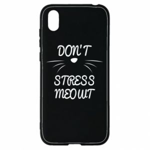 Etui na Huawei Y5 2019 Don't stress meowt