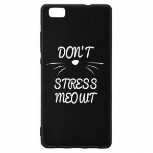 Etui na Huawei P 8 Lite Don't stress meowt