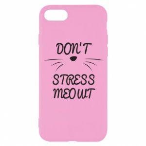 Etui na iPhone SE 2020 Don't stress meowt