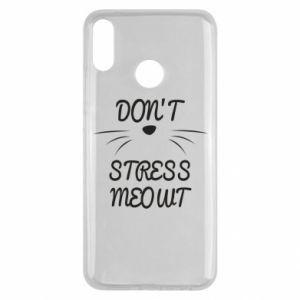 Etui na Huawei Y9 2019 Don't stress meowt