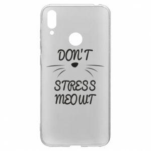 Etui na Huawei Y7 2019 Don't stress meowt