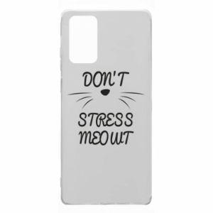 Etui na Samsung Note 20 Don't stress meowt