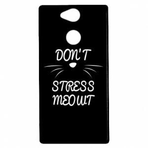 Etui na Sony Xperia XA2 Don't stress meowt