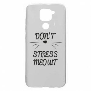 Etui na Xiaomi Redmi Note 9/Redmi 10X Don't stress meowt