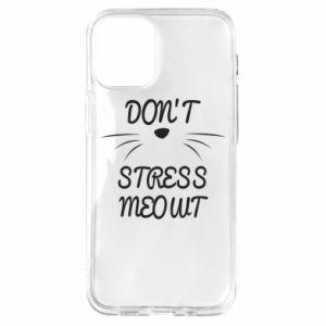 Etui na iPhone 12 Mini Don't stress meowt