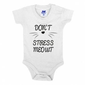 Body dziecięce Don't stress meowt