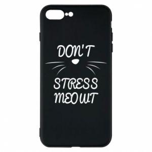 Etui na iPhone 8 Plus Don't stress meowt