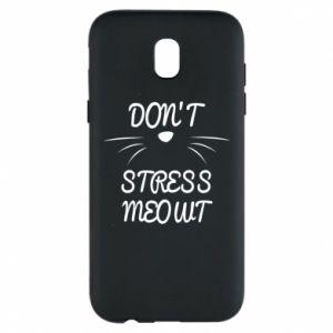 Etui na Samsung J5 2017 Don't stress meowt