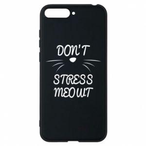 Etui na Huawei Y6 2018 Don't stress meowt