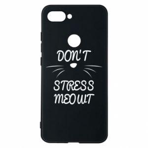 Phone case for Xiaomi Mi8 Lite Don't stress meowt