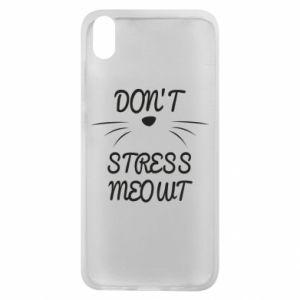 Phone case for Xiaomi Redmi 7A Don't stress meowt